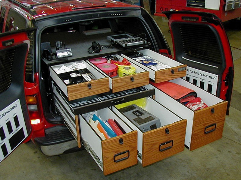 Ideas For SUV Storage Including Secure Long Gun